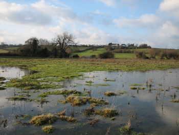 Winter flooding