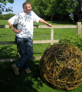 40 inch diameter willow ball