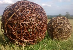 Two willow balls