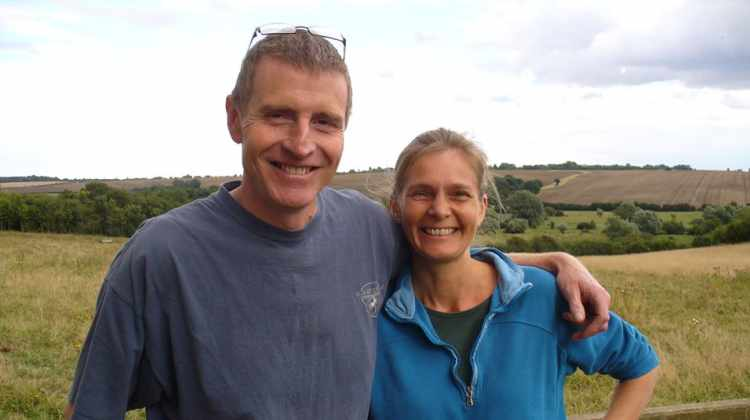 Jane and Guy Lambourne of Wassledine