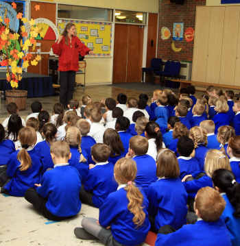 Pupils enjoy traditional tales