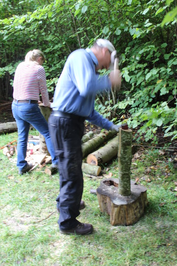Wassledine offer 'Days in the Woods' - experience days at Bottoms' Corner wood