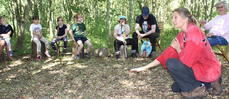 Storytelling in the Woods, Friday 29 May, 2020