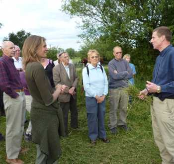 Enjoy a guided walk to see what we do first hand at Wassledine
