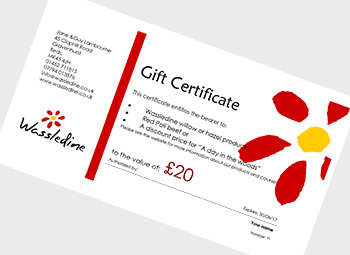 wassledine gift certificates are available now