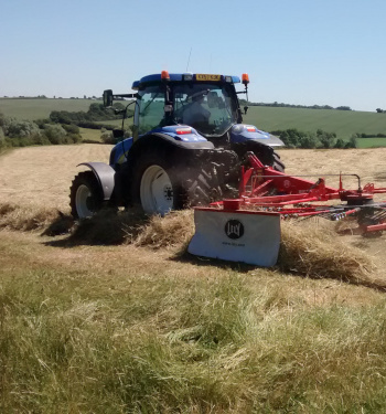 hay making at Wassledine