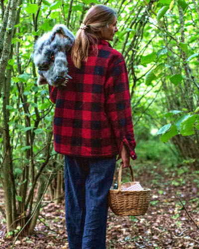Storytelling in the woods with Wassledine