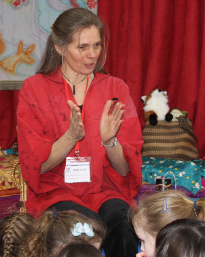 Storytelling for schools with Wassledine