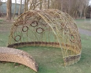 A willow arbour